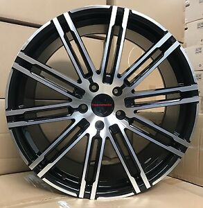 22 Wheels Fit Porsche Cayenne Black Panamera With Tires Audi Q7 Touareg Turbo
