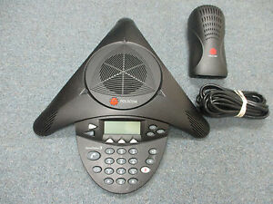 Polycom Soundstation 2 2201 16200 601 Expandable Display Conference Telephone a