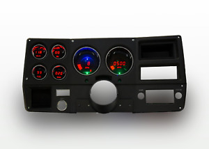 1973 1987 Chevy Truck Digital Dash Panel Red Led Gauges For Ls Engine Usa Made