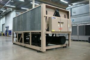 Used York 134 Ton Air cooled Ycal Chiller Sku 1886