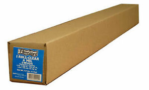 Berry Plastics Corp 10 X 100 ft 4 mil Clear Polyethylene Sheeting 625922