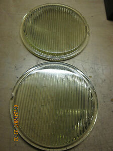 Vintage Headlight Glass Lenses Circa 20 s Fits