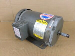 Baldor M3558 2hp 3 ph 1725rpm Industrial Motor
