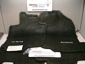 Toyota Rav4 2006 2012 Dark Charcoal Carpet Floor Mats Set Genuine Oem Oe