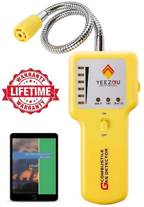 Y201 Propane And Natural Gas Leak Detector Portable Gas Sniffer To Locate Gas