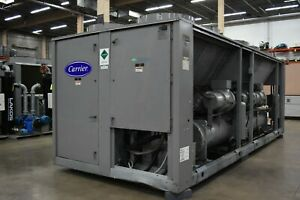 Used Carrier 200 Ton Air Cooled 30gxr Chiller Sku 2090