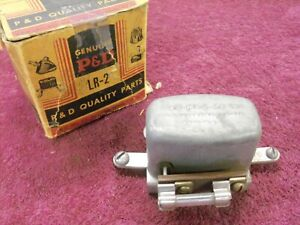 Vintage Nos 6 Volt Headlight Relay P D Products Lr 2 1937 1938 1939 Ford