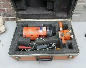 Agl Gradelight 2000 Hot Pipe Laser For Pipe Alignment With Case Used Working