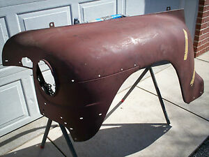 1942 Plymouth Left Front Fender Nos Mopar