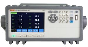 24 channel Thermocouple Pt100 Temperature Tester Meter Data Recorder 4 3 Rs232