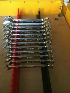 Snap On Oexs709b 9pc Short Combination Wrench Set
