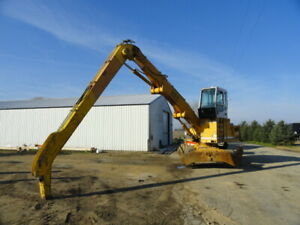 1997 Liebherr A922 Material Handler 40 Reach Runs And Operates Solid Tires