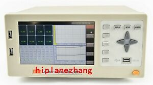 8ch Thermocouple Pt100 V a Temperature Data Logger Recorder 7 lcd Usb Rs232 Lan