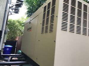 Generac 36 Kw Generator Qto3624 Excellent Condition