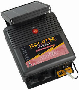 Dare Products Inc Eclipse Series Electric Fence Energizer 40 acre Solar Power