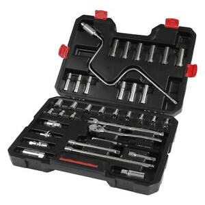 Craftsman Metric 36 Piece 3 8 Inch Drive Ratchet And Socket Set W Carrying Case