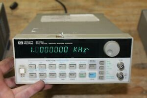 Hp 33120a Function Arbitrary Waveform Generator 15 Mhz