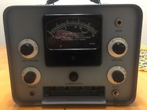 Cec Bell Howell 1 117 Vibration Monitor Aviation Test Equipment