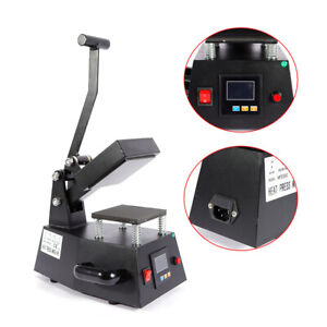 Digital Heat Press Machine T shirts Transfer Sublimation Hat Logo Printing Diy