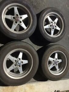 Race Star Wheels With Tires 5x114 3 17x8 17x9 5 Ford Mustang