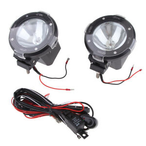 2pcs 4 100w 12v Xenon Hid Work Light Spot Beam Atv Suv Truck Cross Country