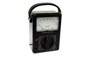 Bell System Series Ac Dc Voltage Tester Ks 14510 l5 W Leather Case