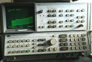 Hp 8566a b Spectrum Analyzer With Cables