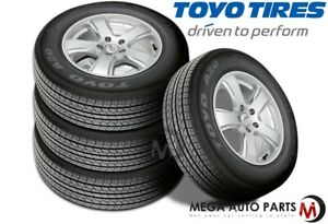 4 New Toyo Open Country A20a P245 65r17 Open Country A20a Bw All Season Tires