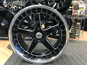 20 X10 Tsw Carthage 5x120 Mm 25mm Offset Black Milled Wheel 2010car255120b76