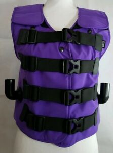 Hill rom The Vest Airway Clearance System Vest Only Adult Xs Slim Purple