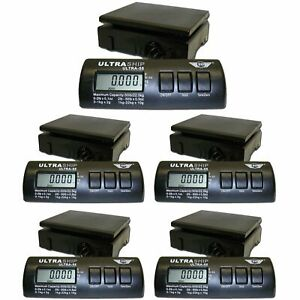 My Weigh Ultraship 55lb Digital Scale Pro 5 pack For Kitchen Or Shipping Use
