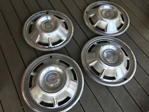 1967 Chevy Camaro Hub Caps 14 Set Of 4 Chevrolet Wheel Covers 67 Hubcaps