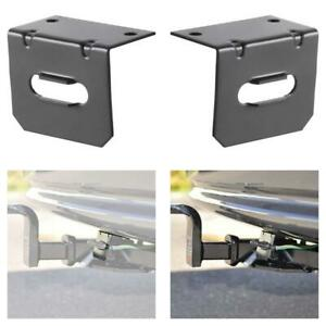 58300 Vehicle Side Trailer Wiring Harness Mounting Bracket For 4 Way Flat