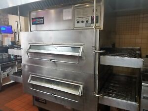 Pizza Oven Double Deck Middleby Marshall Ps 360 Natural Gas Conveyor Oven