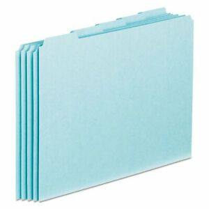 Pendaflex Top Tab File Guides Blank 1 5 Tab 25 Point Pressboard Letter box Of