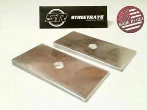 sr Hd Axle Shims Truck Suv Pinion Angle Correction Leaf Block For 2 up Lift