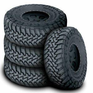 4 New Toyo Open Country M t Lt35x12 50r17 125q E 10 Ply Mt Mud Tires