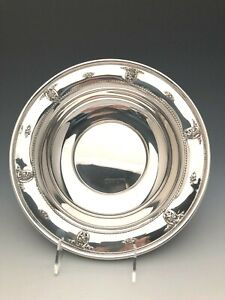 Rose Point By Wallace Fruit Bowl 10 5 Beautiful Sterling Silver
