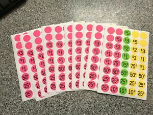 Garage Sale Stickers Choose Your Quantity Free Shipping