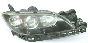 2004 2005 2006 2007 2008 2009 Mazda 3 Sedan Halogen Headlight Passenger Oem 519