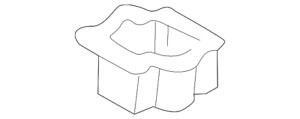 Genuine Ford Cup Holder 4l5z 1313564 aaa