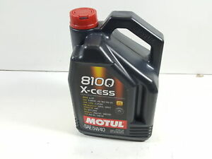 Motul X cess 5w 40 Synthetic Gasoline And Diesel Engine Oil 5 Liter Jug
