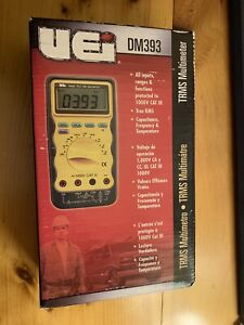 Uei Test Instruments Dm393 Auto Ranging Cat 3 Trms Digital Multimate 1000v New