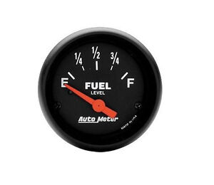 Autometer Z Series Electric Universal Gm Chevy Fuel Level Gauge 2 1 16 52mm