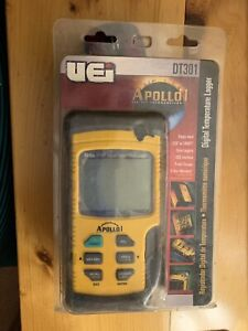 Uei Dt301 Apollo I Digital Temperature Logger Usb Interface probe Storage new