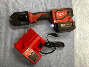 Milwaukee 2674 20 M18 Short Throw Press Tool Lith ion 18v With 3