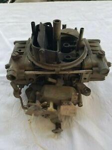 Holley Motorcraft Carburetor D4te Ana Ford Carb Pickup 391 Truck 4 Barrel