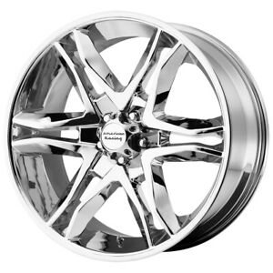 4 american Racing Ar893 Mainline 18x8 5 6x5 5 30mm Chrome Wheels Rims 18 Inch