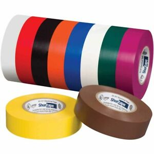 Shurtape 200786 Ev 057c Ul Listed Electrical Tape Blue 3 4in X 66ft