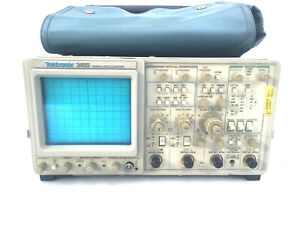 Tektronix 2465 300 Mhz Oscilloscope W probes Keysight Calibration